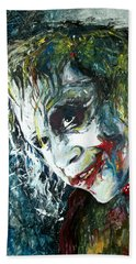 The Joker - Heath Ledger Hand Towel