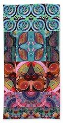 The Joy Of Design Mandala Series Puzzle 7 Arrangement 3 Bath Towel