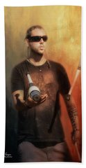 Bath Towel featuring the photograph The Juggler by Wallaroo Images
