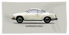 The Karmann Ghia Bath Towel