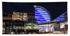 Hand Towel featuring the photograph The Kentucky Center For The Performing Arts by Randy Scherkenbach
