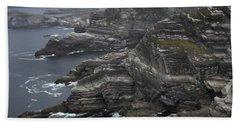 The Kerry Cliffs, Ireland Bath Towel