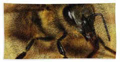 The Killer Bee Hand Towel by ISAW Gallery