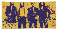 The Killers Poster Bath Towel