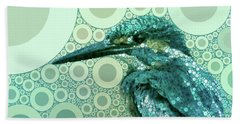 The Kingfisher Bath Towel