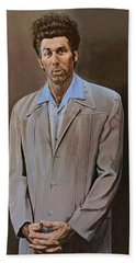 The Kramer Portrait  Bath Towel