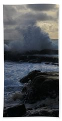 The Labouring Of Waves. 1 Bath Towel
