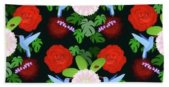 The Ladybird And The Hummingbird Hand Towel