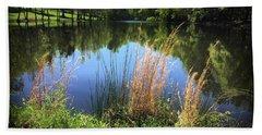 The Lake At Musgrove Mill Hand Towel