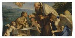 The Last Communion Of Saint Mary Of Egypt Bath Towel