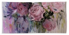 The Last Of Spring Painting Bath Towel