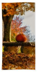 The Last Pumpkin Hand Towel