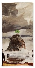 The Last Tree Hand Towel