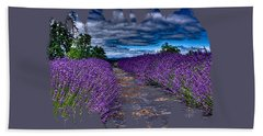 The Lavender Field Hand Towel