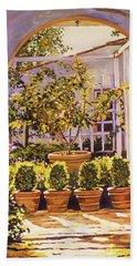 The Lemon Tree Courtyard Bath Towel