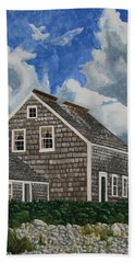 The Light Keeper's House Bath Towel