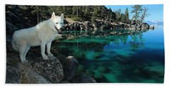 The Light Of Lake Tahoe Hand Towel