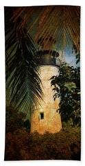 The Lighthouse In Key West Hand Towel