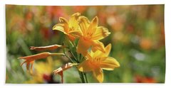 The Lilies Arrayed Hand Towel