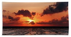 Hand Towel featuring the photograph The Limitless Loving Devotion by Jenny Rainbow