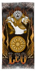 The Lion Leo Spirit Bath Towel