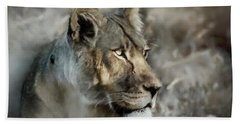 The Lioness  Hand Towel