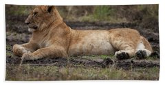 The Lioness Bath Towel