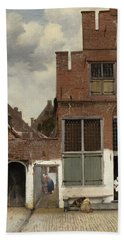 The Little Street, 1658 Hand Towel