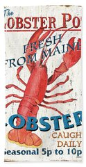 The Lobster Pot Hand Towel