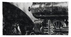The Locomotive Hand Towel