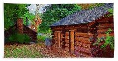 The Log Cabins Hand Towel