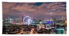 The London Skyline Bath Towel