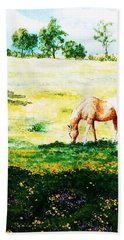 The Lone Horse Hand Towel