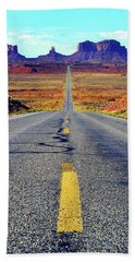 The Long And Winding Road Hand Towel