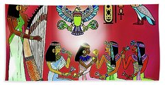 The  Lure Of Egypt Bath Towel
