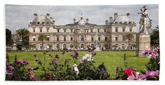 The Luxembourg Palace Hand Towel by Kai Saarto