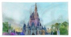 The Magic Kingdom Castle Wdw 05 Photo Art Hand Towel