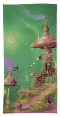 The Mushroom Gatherer Hand Towel