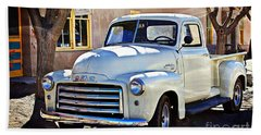 The Magic Of The 1949 Gmc 100 Hand Towel by Barbara Chichester