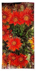 The Magical Flower Garden Bath Towel