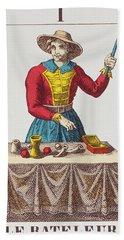 The Magician Tarot Card Hand Towel