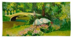 The Magnificent Bow Bridge Bath Towel