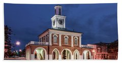 Hand Towel featuring the photograph The Market House by Rob Sellers