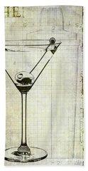 The Martini Hand Towel by Jon Neidert