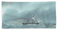 The Mary Celeste Adrift December 5th 1872 Hand Towel