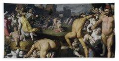 The Massacre Of The Innocents, 1590 Bath Towel