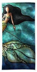 The Mermaid Hand Towel