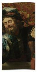 The Merry Fiddler, 1623 Bath Towel