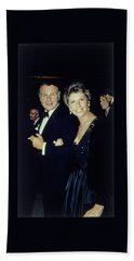 The Met Set Bill Blass And Geraldine Stutz Bath Towel