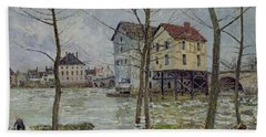 The Mills At Moret Sur Loing Hand Towel
